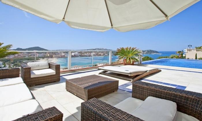 Seaview villa santa Ponsa, villa Mallorca